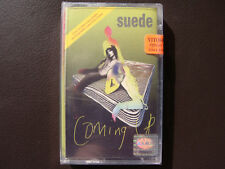 Suede - Coming Up - AUDIO CASSETTE TAPE, New, Sealed, Out of Print, Rare