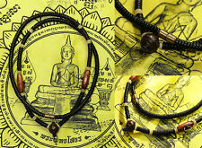 Rare Ancient Thai Necklace Coconut Shell magic holy pendant handmade thai amulet