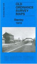 Old Ordnance Survey Mappa STANLEY 1915