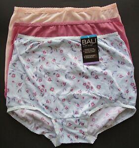 Bali Skimp Skamp Nylon Blend Brief 3 Pack Style A633 Size 2XL 9 NWT Retail $26