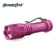 Tactical LED T6 LED Flashlight Zoomable AA 14500 Torch Light Bicycle Lamp Mount
