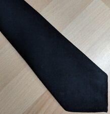 Vintage lightweight slim fine black tie funeral formal RS Whitworth Ltd