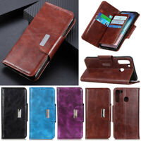 Luxury 6 Card Wallet Leather Flip Case Cover For Xiaomi Redmi Note 8 K30 7A 8 8A