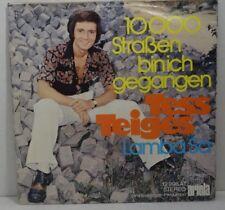 """TESS TIGES (=FANCY) -1000 Straßen bin ich geagngen - 7"""" Single Vinyl , VG++"""