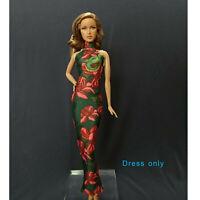 "Handmade~Doll dress for 12"" Doll~ Barbie,Fashion Royalty Silkstone #B0017-001033"