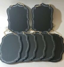 "8  CHALK BOARD WALL HANGING 6"" X 8"" w/tags NEW"