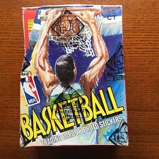 1989 FLEER BASKETBALL BOX WITH 36 UNOPEN PACKS AUTH BY THE BBCE