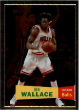 2007-08 Topps Chrome 1957-58 Variations #103 Ben Wallace - NM-MT