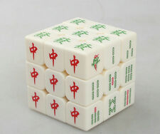 Z cube Chinese Mahjong 3x3 Magic Cube  white