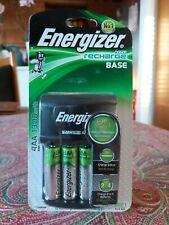 Energizer ACCU Recharge Base AA/ AAA with 4 AA Batteries 1300mAh