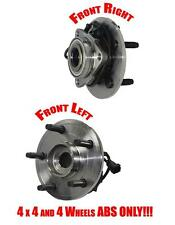 02-06 Dodge Pick Up Ram 1500 4x4 Front Wheel Hub Bearings 4 Wheels ABS ONLY!!!