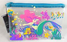 Disney The Little Mermaid Ariel And The Gang Clear Pencil Case Cosmetic Tote Bag