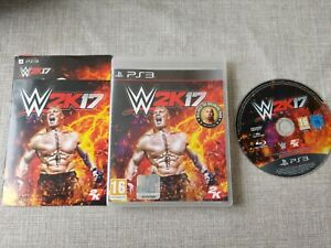 W2K17 WWE PS3 PLAYSTATION 3 PREOWNED