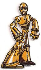 "Star Wars C-3PO Animated Die-Cut Figure 4"" Patch-FREE S&H (SWPA-CD-34)"