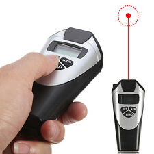 New Electronic Tape Measure - Ultrasonic Distance Measurement with Laser Pointer