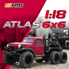FMS 6X6 1/18 2.4G RC Car Crawler Vehicle Model RTR Full Proportional Toys