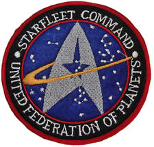 Star Trek TNG Starfleet Command United Federation of Planets Patch