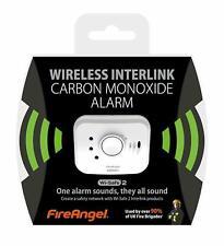 FireAngel W2-CO-10XQ Carbon Monoxide Alarm Wireless Interlink Wi-Safe 2