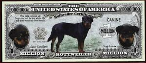 ROTTWEILER 🐶 Certificate Million 🐶💶 Fantasy Note 🐶Buy More Save More