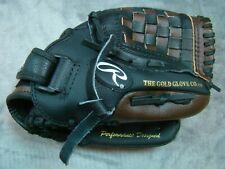 "Nwot Rawlings Players Series Baseball Glove 11"" Youth Pl1109Bpu Right-Handed"