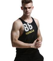 SEOBEAN Mens GYM Tank Top Fitness Sleeveless Shirts for men