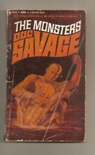 Doc Savage The Monsters  #7  Kenneth Robeson 1965  1st Bantam