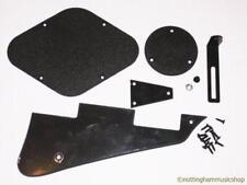 Guitarra Eléctrica Negro Plástico + Piezas De Metal Lp Pickguard Switch Placa Soporte Posterior