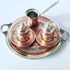 Turkish OttomanCoffee Serving SetCoffee Porcelain CupSaucer Coffee Maker PotSet