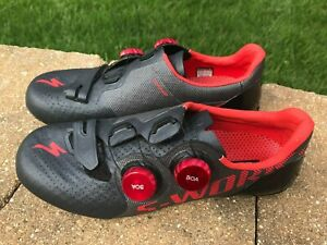 Specialized S-Works 7 Road Shoes, Size 38, Black/Rocket Red