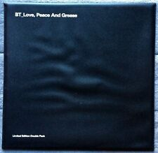 "BT Love, Peace and Grease RARE promo double pack 12"" vinyl LP (plastic sleeve)"