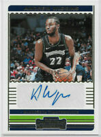 Andrew Wiggins 2019-20 Panini Contenders AUTO GOLD #d/10 AUTOGRAPH SP Warriors
