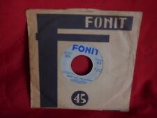 DOMENICO MODUGNO Piove + Farfalle 45rpm 7' + PS 1959 ITALY VINILE TRASPARENTE