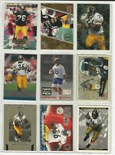Pittsburgh Steelers Jerome Bettis Lot of 30 Different Cards w/RC & Inserts