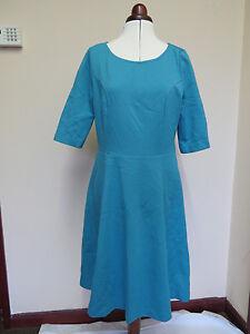 Boden Alice Ponte Dress RRP £99! Capri Blue *LAST ONE*  *NOW REDUCED*