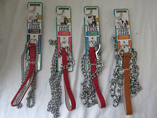 Brand New Aspen Pet Mighty Link Dog Chain Leash Dogs 44 to 110 lbs. Heavy Weight