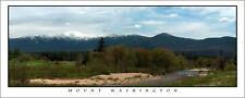 Poster Panorama Mount Washington Fine Art Print New Hampshire White Mountains