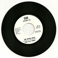 Gary(U.S.)Bonds One Broken Heart Promo 45 Unplayed NM