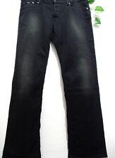 Hugo Boss Black Cotton Men Jeans Regular Straight Fit Size W 38   L 32 NEW