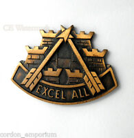 UNITED STATES ARMY SPECIAL FORCES EXCEL ALL LAPEL PIN badge 1.1 inches