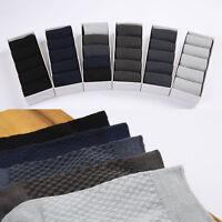1 pairs/Box Bamboo Fibre Odorless Men Socks Casual Sport Business Fashion Sock