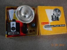 Kodak hawkeye camera outfit in original box