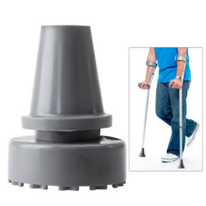 19mm Rubber Head Crutch Accessories Antislip Tips Walking Stick Feet