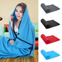 Fleece Sleeping Bag Liner for Adult Camping or Indoor Used Ultralight 180*82cm