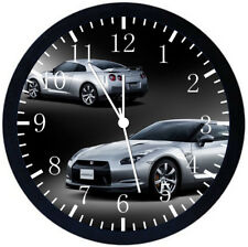 Nissan GTR Black Frame Wall Clock Nice For Decor or Gifts Z164