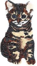 Sequin Patch: Large Bobtail Cat