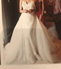 2 Piece Embroidery Wedding Dress