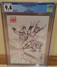 Astonishing X-Men #50 CGC 9.4 John Cassady 1:00 Sketch Variant Cover - Wolverine