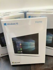 GENUINE WINDOWS 10  HOME LICENCE & USB for 64/32 BIT BOXED MULTILINGUAL - Sealed