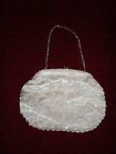 Vintage Beaded Clutch Bag Mid-Century Chic