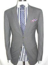 MENS  LUXURY CANALI FLANNE  TAILOR MADE ITAL GREY   THE  SUIT :42REG  W36   XL32